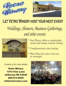 Event advertising flier