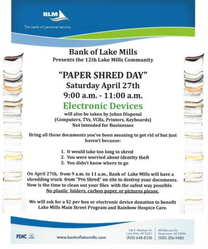 Paper Shred Day
