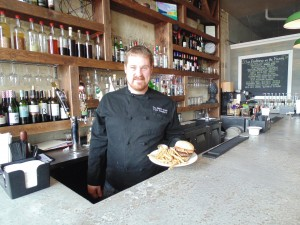 Chef Tyler Sailsbery, owner of The Black Sheep gourmet restaurant in Whitewater