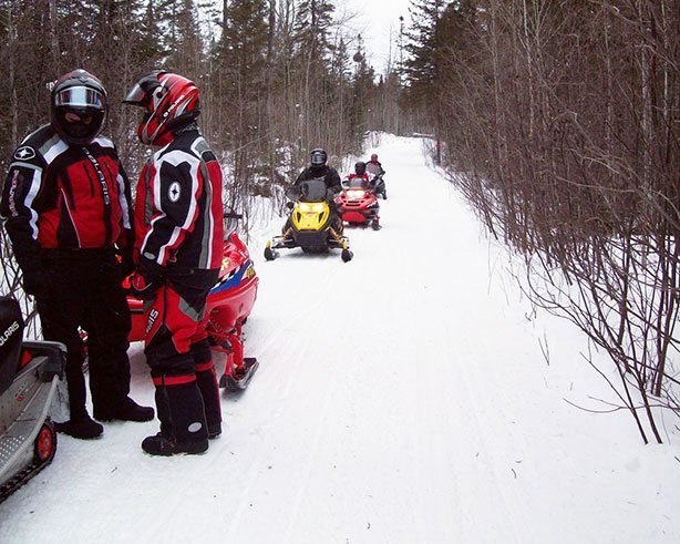 Snowmobiling in Jefferson County