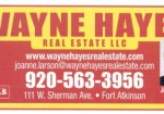 Wayne Hayes Real Estate, LLC