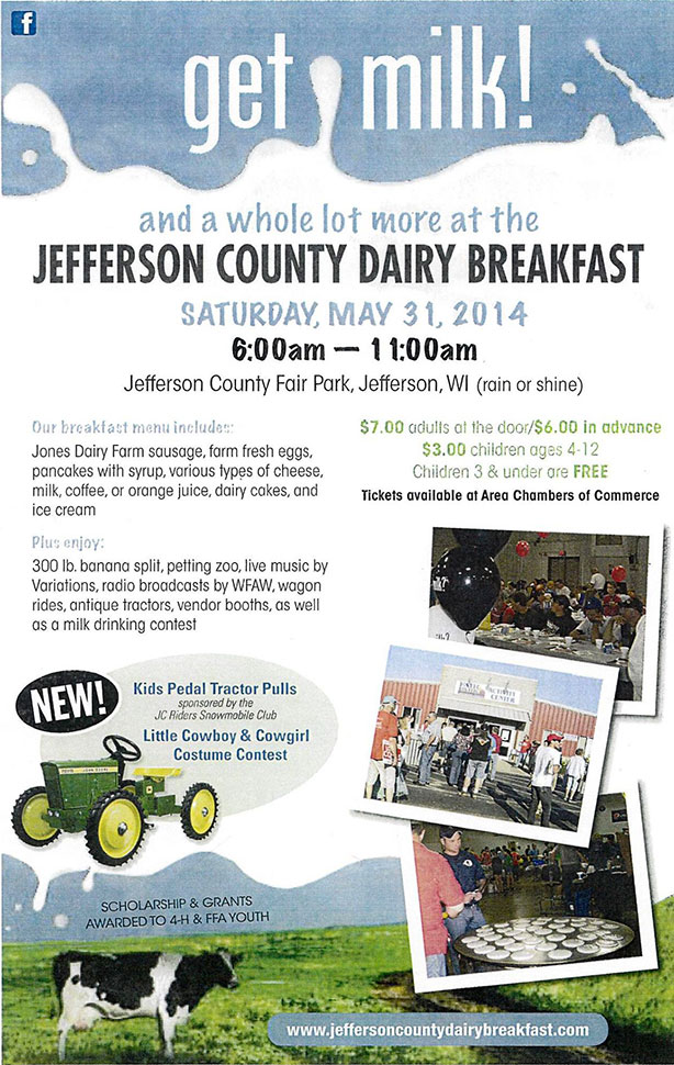Dairy Breakfast 2014