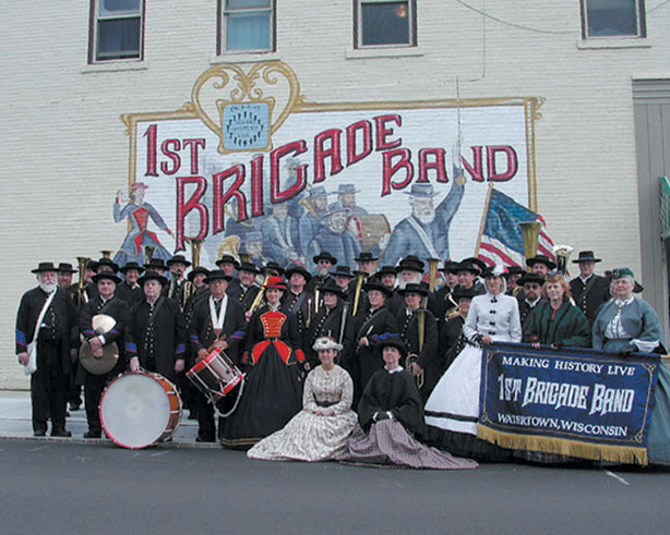 Image result for first brigade band watertown wi