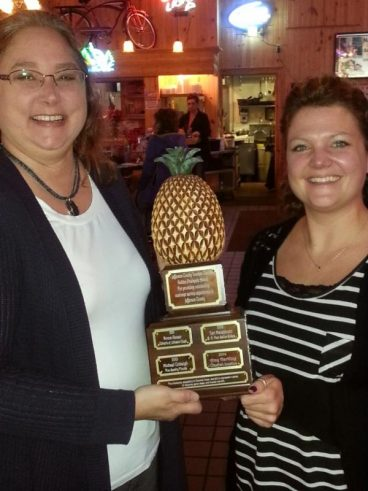 Congratulations the Winner of the 2014 Golden Pineapple Award!