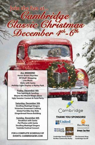 Cambridge Classic Christmas
