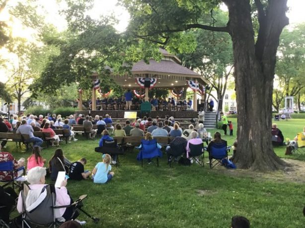 Lake Mills City Band Concert