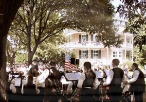 Octagon House Ice Cream Social and 1st Brigade Band Performance