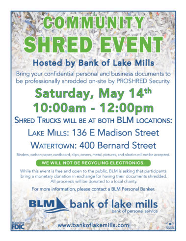 Shred Event May 2016