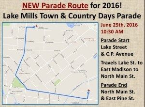 New Parade Route