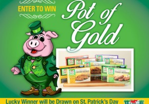 Jones Market Pot of Gold Contest