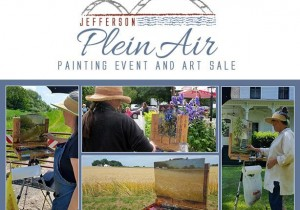 Jefferson Plein Air Painting Event and Art Sale