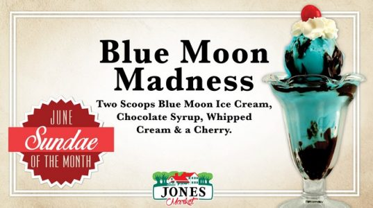 Blue Moon Madness at Jones Dairy