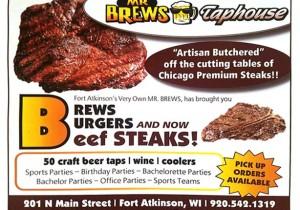 Brews Burgers Beef Steaks