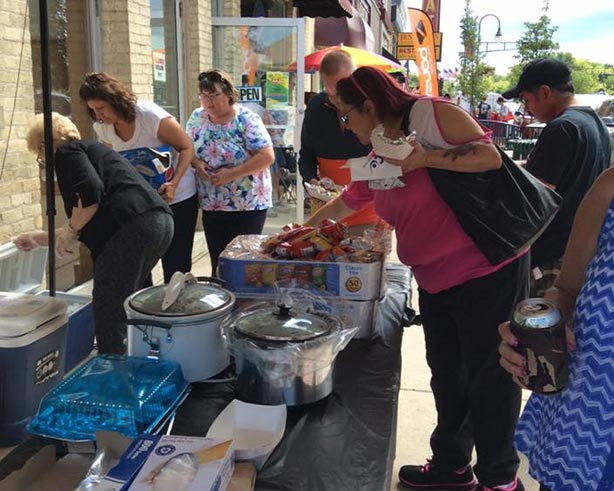 Annual Chamber Brat Sale Fundraiser & Maxwell Street Days Sidewalk Sales