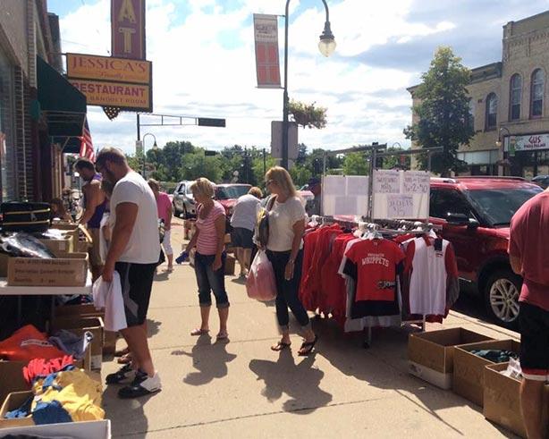 Annual Whitewater Sidewalk Sales