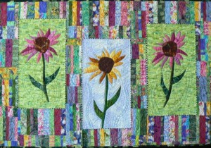 Inspirations of an Art Quilter: Trunk Show and Quilt Talk