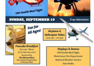 Watertown Municipal Airport Open House and Pancake Breakfast