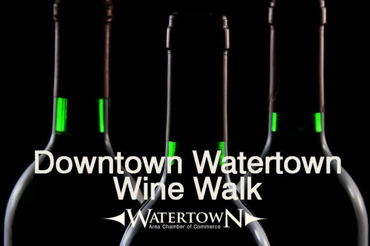 Watertown Wine Walk Poster