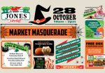 Halloween Market Masquerade at Jones Market
