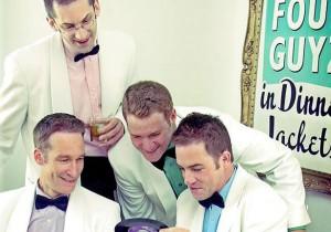 Four Guyz in Dinner Jackets music group Jefferson CPA