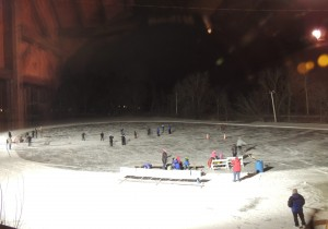 Ski and Hike Event at Haumerson's Pond