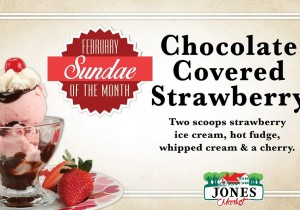 Jones Dairy February Sundae of the Month
