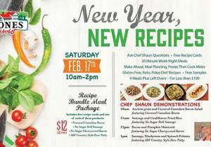 Jones Market New Year New Recipes