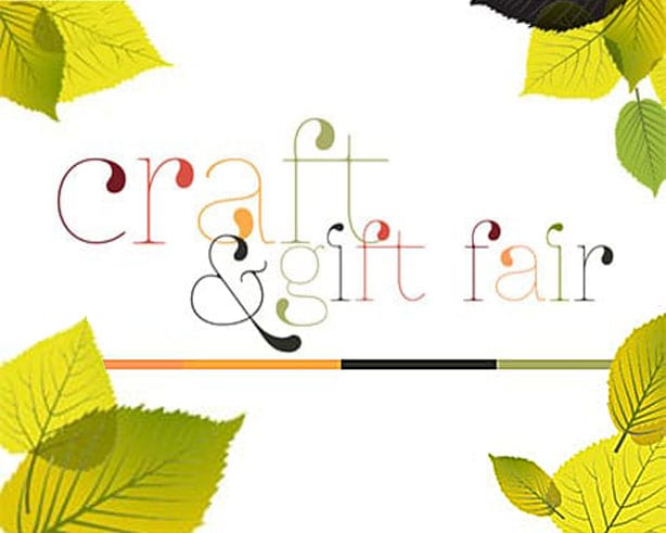 Craft and Gift Fair Poster