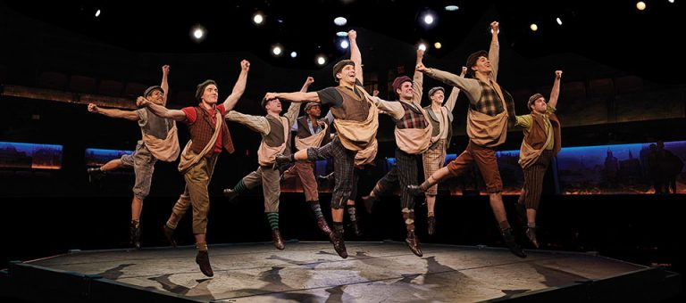 Disney's Newsies at the Fireside in Fort Atkinson WI