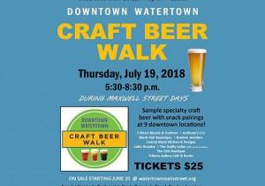Downtown Watertown Craft Beer Walk