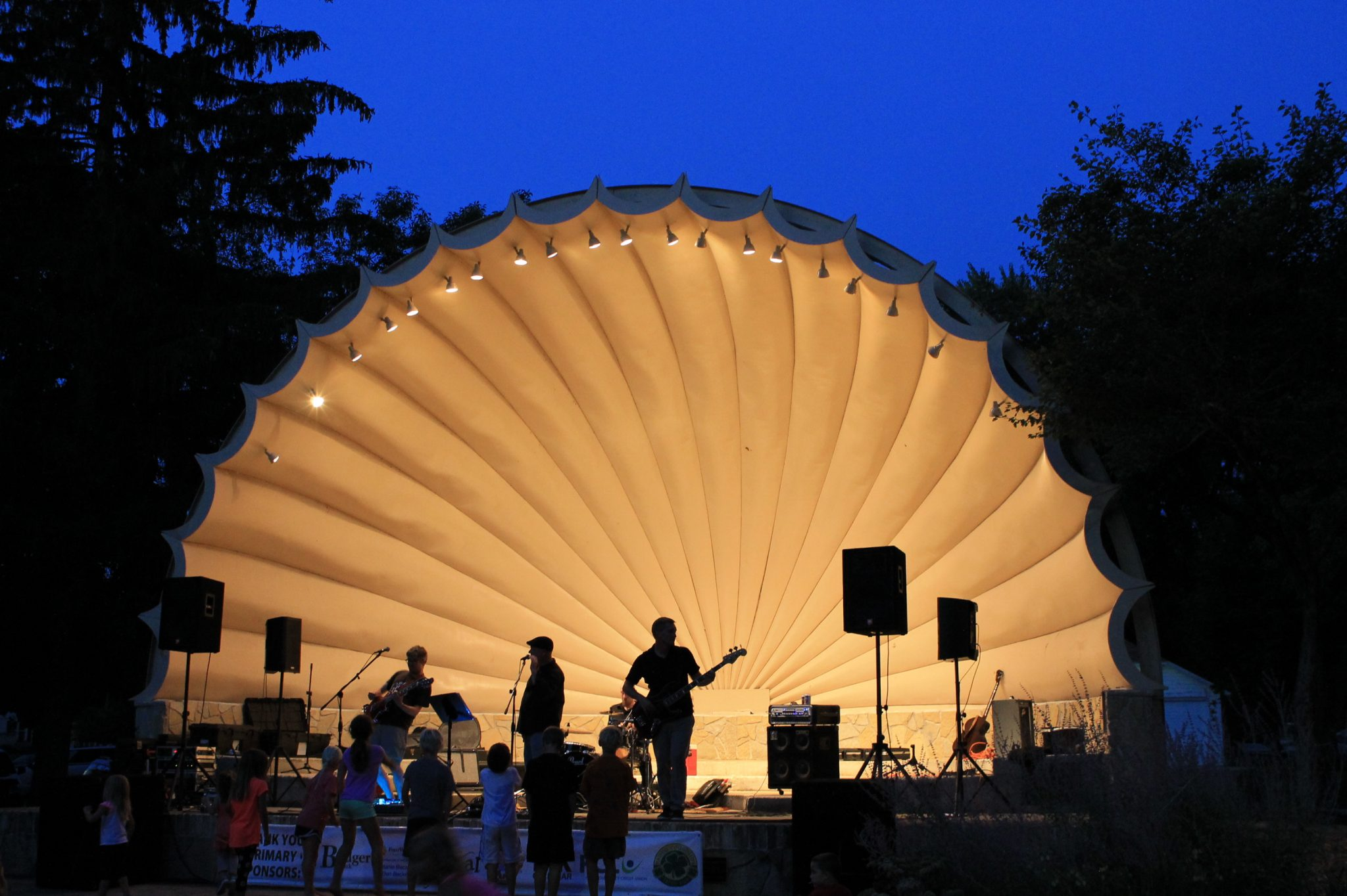 Outdoor Music in Jefferson County in July