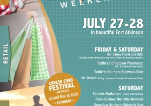 Friends and Family Weekend in Fort Atkinson