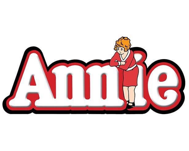 Annie show logo