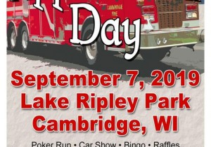 Cambridge Volunteer Fire Department Community Appreciation Day