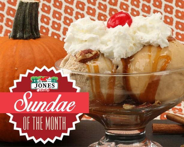 Jones Market Sundae of the Month October 2018