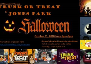 Trunk or Treat at Jones Park