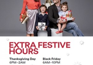 Thanksgiving & Black Friday Event at Johnson Creek Premium Outlets