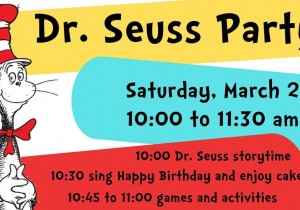 Dr. Seuss Party at Johnson Creek Library