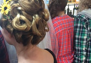 Wedding Day Hair design