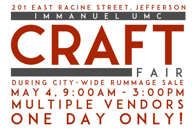 Immanuel UMC Craft Fair