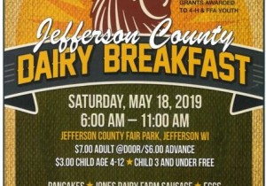 Jefferson County Dairy Breakfast