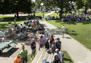 picnic at jones park for generals baseball festival