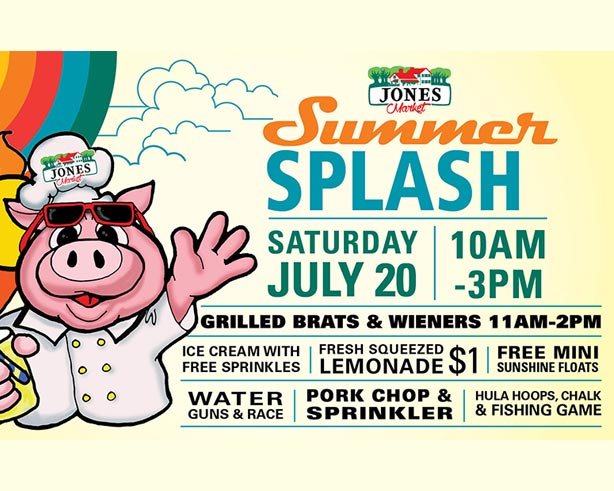 Jones Market Summer Splash