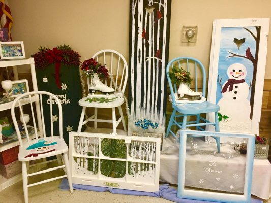 Products sold at Winter Famers Market - Decor and Chairs