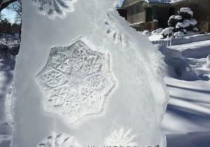 Ice Lanterns: Fun with Texture