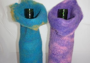 Make a Felted Wine Sleeve