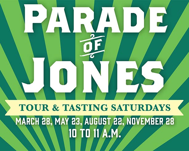 Parade of Jones Tour & Tasting Saturdays November