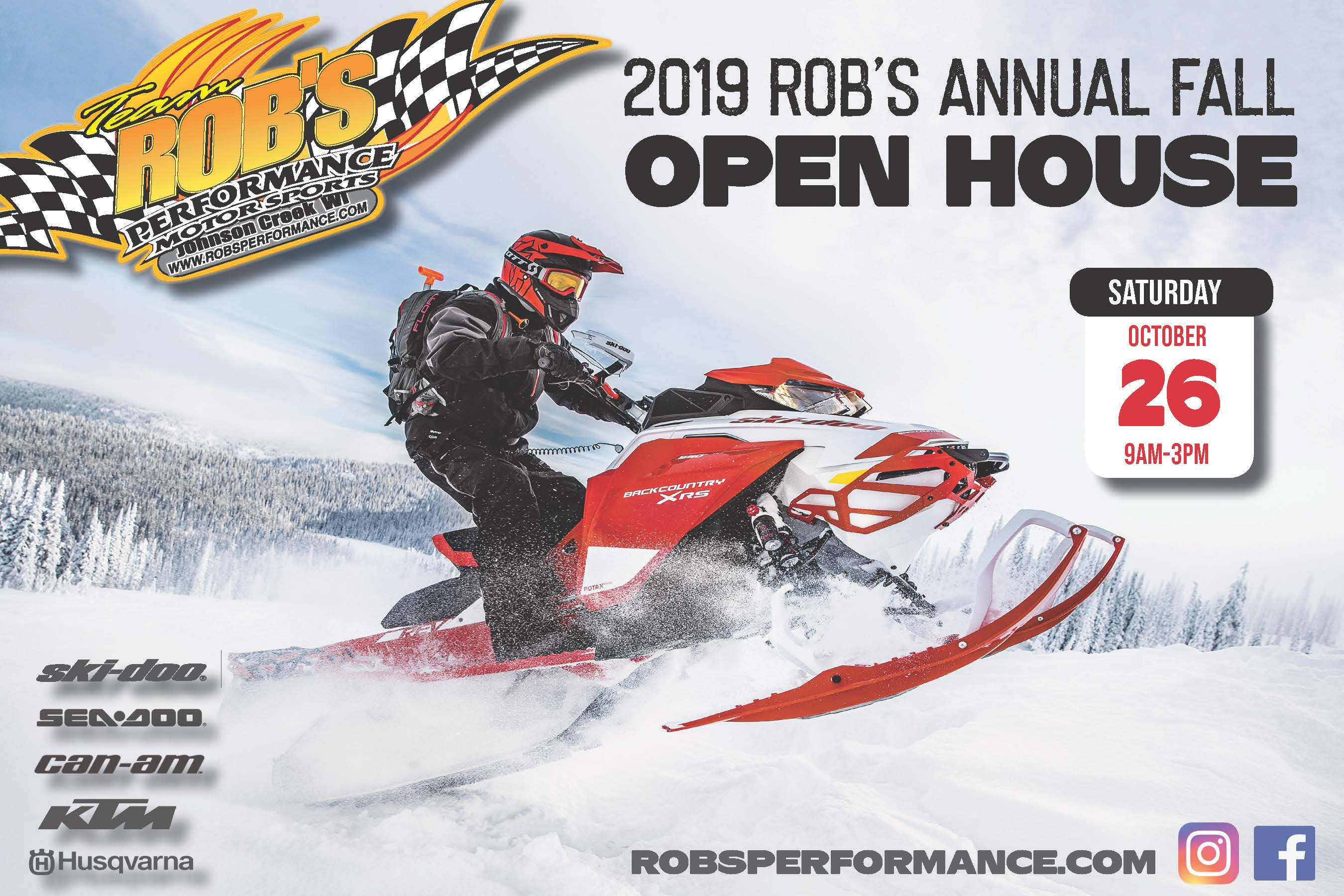 2019 Rob's Annual Fall Open House
