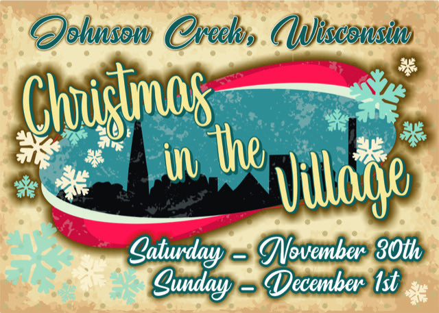 Christmas in the Village Participant: Vintage Christmas, hosted by the Johnson Creek Historical Society