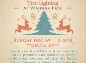 Johnson Creek 4th Annual Holiday Tree Lighting - Now a DRIVE BY event!